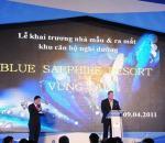 Tổ chức sự kiện đêm tiệc ra mắt Blue Sapphire Resor Vũng Tàu quá hoành tráng
