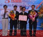 Tổ chức sự kiện Lễ kỷ niệm 5 năm thành lập Công ty Cổ phần Cấp nước Nhà Bè