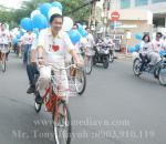 Tổ chức sự kiện diễu hành Roadshow bằng xe đạp đôi chào xuân 2012 Công ty CP Giấy Sài Gòn