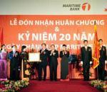 Maritime Bank kỷ niệm 20 năm thành lập và đón nhận Huân chương Lao động Hạng 3