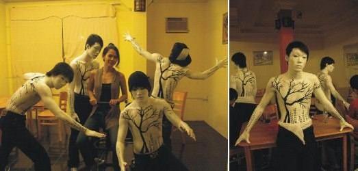 Nhân tượng / Vẽ Body Art